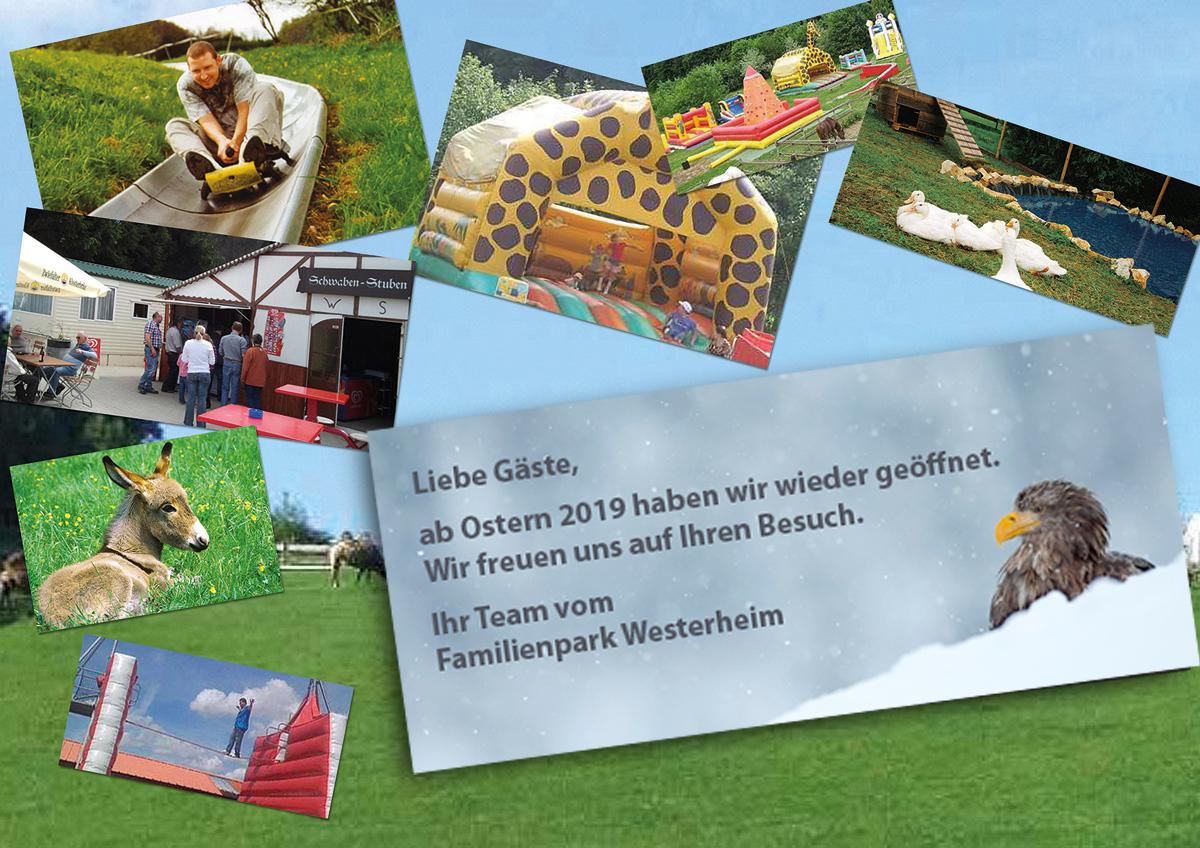 Familienpark Westerheim Winter 2018