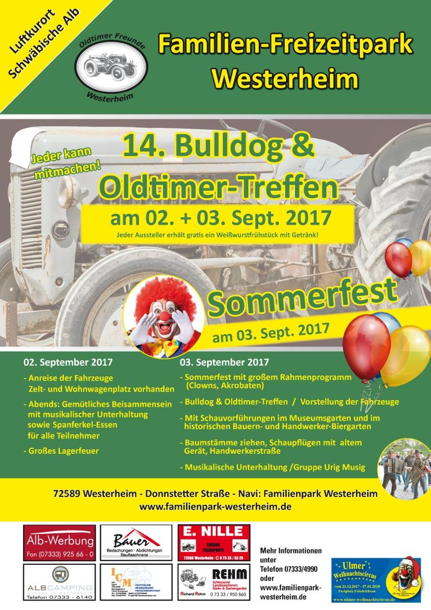Familien-Freizeitpark Westerheim Oldtimertreffen 2017