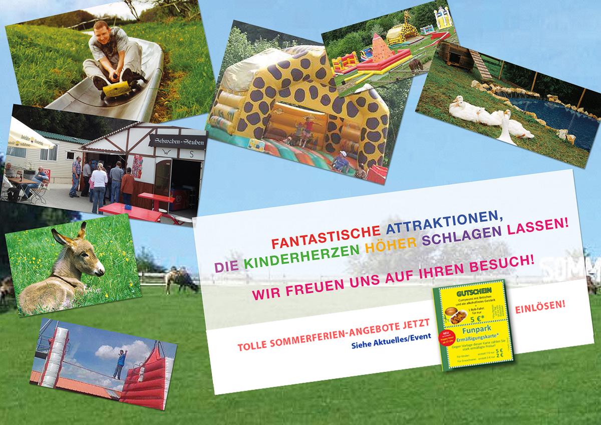 Familienpark Westerheim Sommer 2018