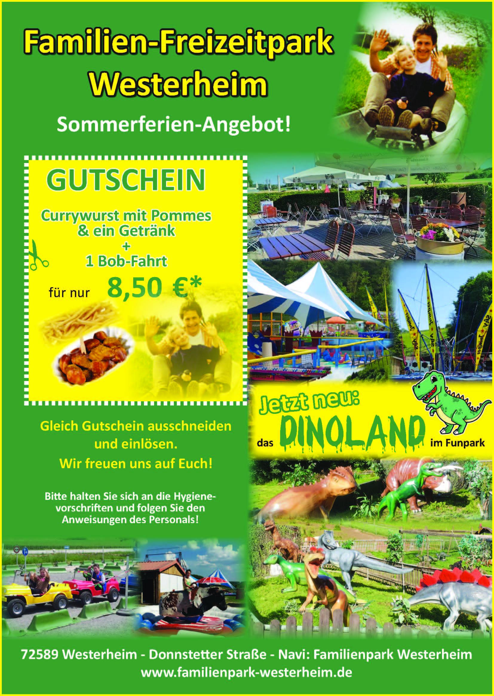 Familienpark Westerheim Sommer 2021